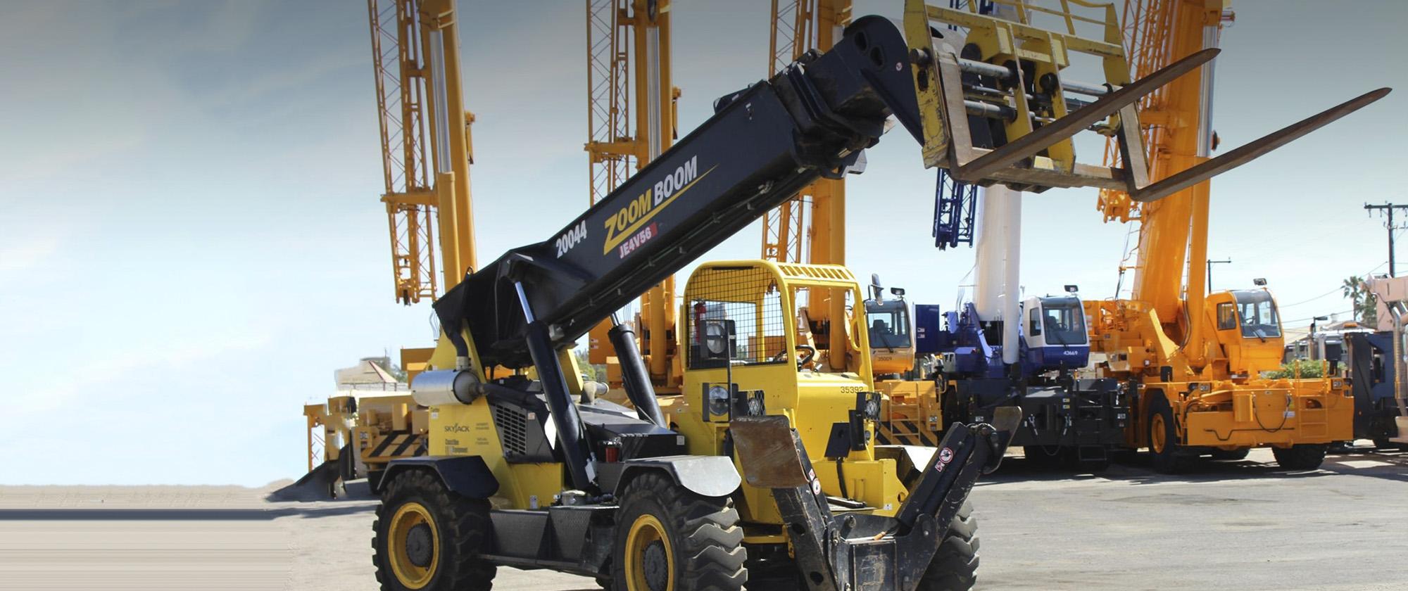 Crane Sales | Coastline Equipment Crane Division