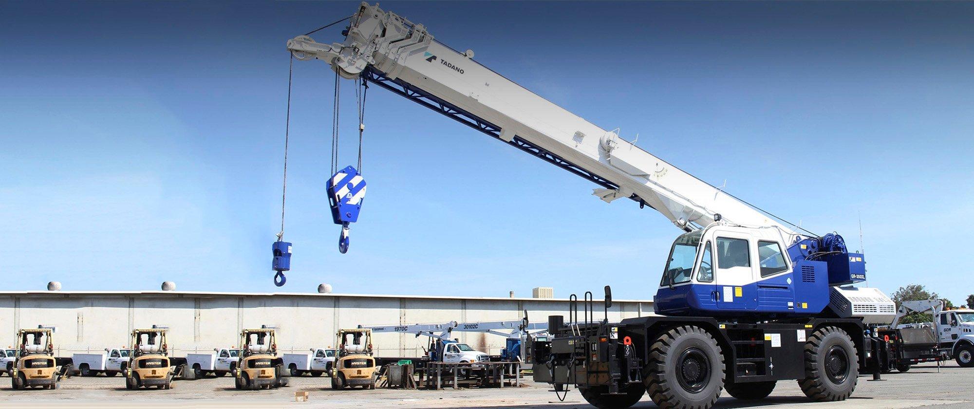 Request a Quote | Coastline Equipment Crane Division