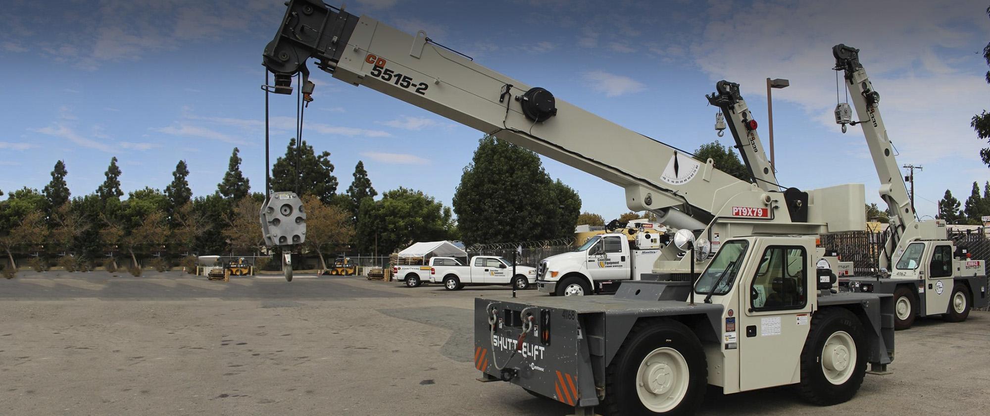 Crane Service | Coastline Equipment Crane Division