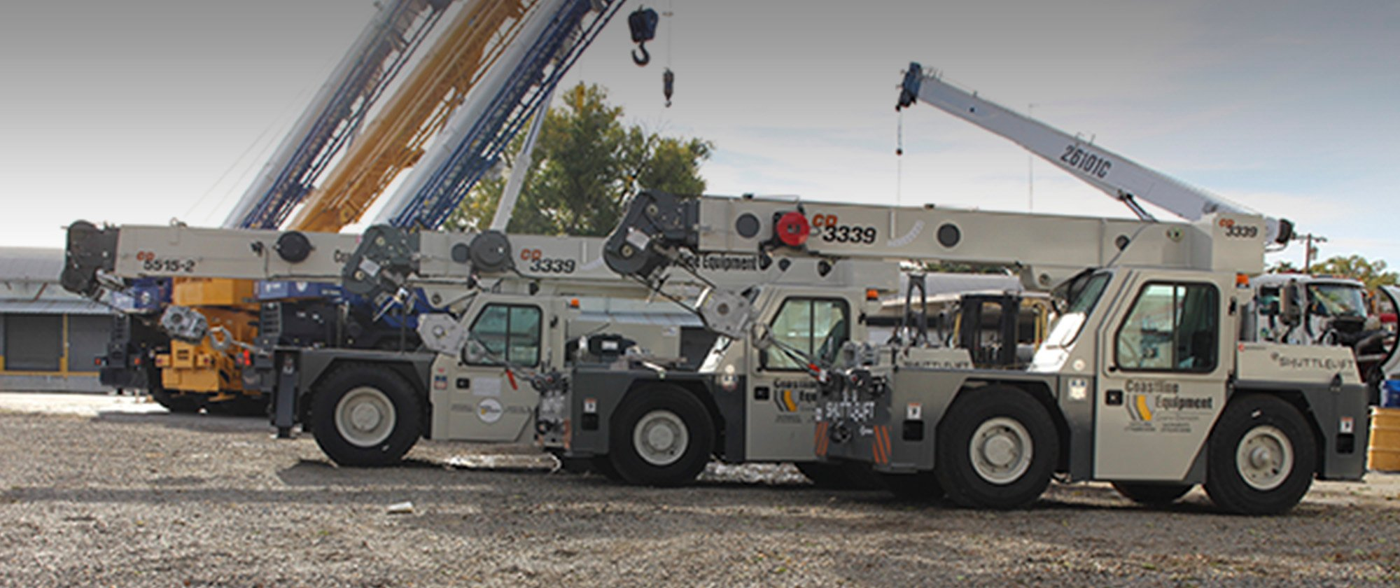 Crane Service | Coastline Equipment Crane Division